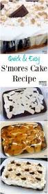 quick u0026 easy s u0027mores cake recipe must have mom