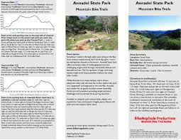 Annadel State Park Map by Marin Mountain Biking Trails