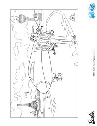 ken and barbie u0027s aircraft coloring pages hellokids com