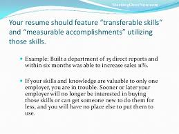 Resume Transferable Skills Examples by Career Reboot Transferable Skills That Rock You To Results