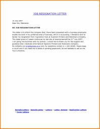 Example Letter Of Resignation Australia Letter Resignation Template Australia Create
