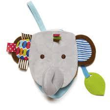 skip hop puppet book elephant