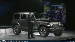 new jeep wrangler the new jeep wrangler jl has made its l a debut news top speed