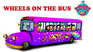 the wheels on the bus nursery rhymes for children video songs