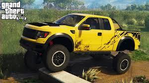 Ford Raptor Modified - gta 5 epic ford raptor w suspension mod 4x4 off roading mod