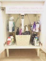 Bathroom Sink Organizer Bathroom Cool Organize Under The Bathroom Sink Images Home
