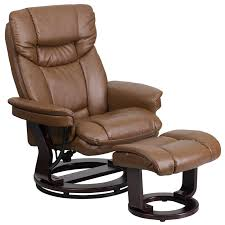 rocker recliner with ottoman contemporary palimino leather recliner and ottoman with swiveling