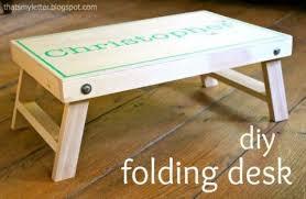kids folding lap desk folding lap desk last minute diy wood gift ideas pinterest lap