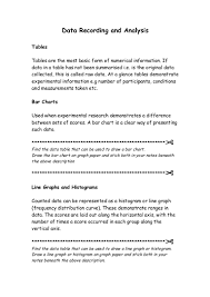 8 data recording worksheet 1