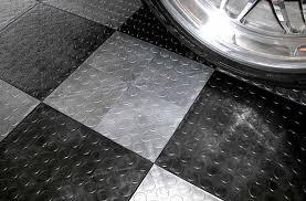 Tiles For Garage Floor Coin Grid Loc Tiles Designer Plastic Garage Floor Tile