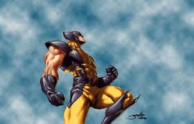 Wolverine About Punch Sky
