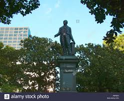 henry clay statue lafayette square new orleans louisiana usa stock