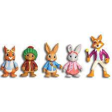 rabbit treehouse nick jr rabbit treehouse playset and figures ebay