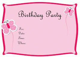 invitation cards for birthday party u2013 gangcraft net