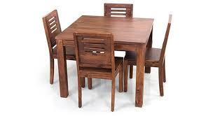 4 Seater Dining Table And Chairs Arabia Square Capra 4 Seater Dining Table Set Ladder