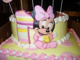 baby minnie mouse 1st birthday baby minnie mouse 1st birthday cake gallery picture cake design