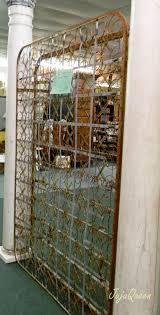 antique room divider judy hanks pimperl rusty bed spring room divider at daphne