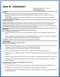 Linux Resume Process System Admin Resume Lukex Co