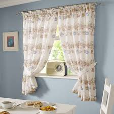 Blue And Yellow Kitchen Curtains Decorating Decorating Kitchen Curtains Window Treatments 30 Inch Tier Kitchen