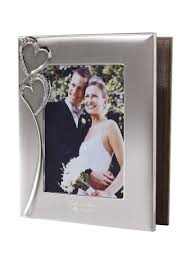 personalized album personalized hearts photo album david s bridal