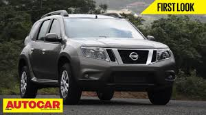 nissan pathfinder price in india 2013 nissan terrano compact suv first look video autocar india
