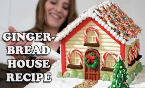 christmas gingerbread house howtocookthat cakes dessert chocolate christmas gingerbread