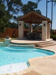 Backyard Oasis Ideas patio pool aprons outdoor living space backyard pool