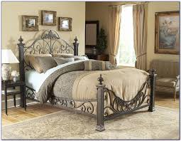 wrought iron bed frames target frame decorations