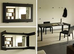 Incredible Wall Mounted Folding Dining Table Wall Mounted Dining - Wall mounted dining table designs