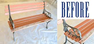 Habitat Radius Bench Beginner U0027s Guide To Furniture Refinishing Polished Habitat
