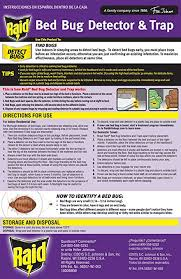 Wisconsin how do bed bugs travel images Raid bed bug detector and trap 8 0 count health jpg