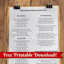 free printable christmas song lyric games list of classic christmas songs with lyrics all things christmas