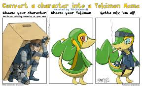 Best Pokemon Memes - character into pokemon meme solid snivy by taritoons on deviantart
