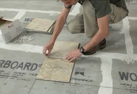 how to tile a floor at the home depot
