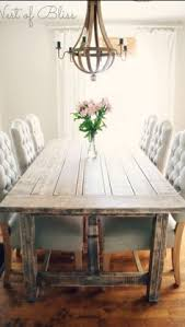 Rustic Dining Room Sets by Love The Table Dressing With The Mix Of Chairs Cool Shabby