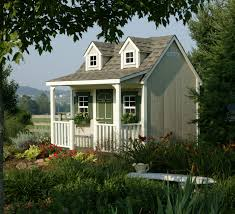 backyard cottage backyard cottage playhouse homeplace structures