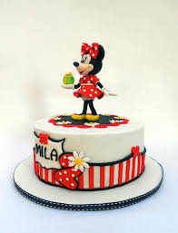 superb minnie mouse 2nd birthday cake between the pages