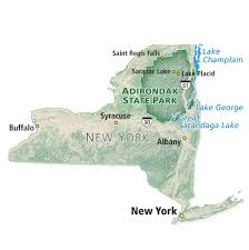 Map Of New York State Parks by Adirondack Park Fly Fisherman