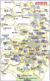 Denver Neighborhoods Map Jerusalem Neighborhoods Map Map Of Jerusalem Neighborhoods Israel