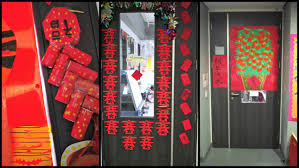 New Year Board Decorations by Backyards Chinese New Year Door Decorations How To Make Chinese