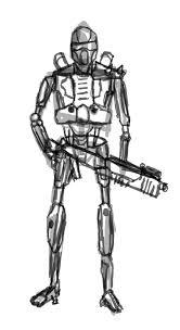 robot concept art sketch by asparuh13 on deviantart