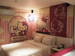 hello kitty wall decals that are cute and funny jen joes design image of hello kitty wall decal large