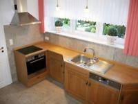 küche eiche hell küchen holzofen küche hell inkl elektrogeräte in bayern