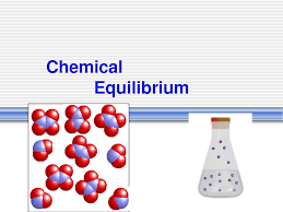 chemical equilibrium is a condition which means that the rate of