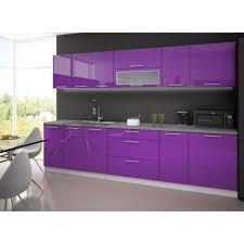 meuble cuisine violet meuble de cuisine violet en photo