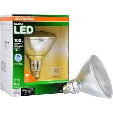 flood light bulbs sylvania sylvania led flood light bulb 14w 100w equivalent par38 bright