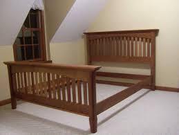 Solid Wood Bed Frames Bed Solid Wood Bed Frame Queen Home Design Ideas