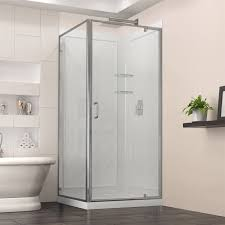 Shower Glass Doors Prices by Bathroom Frameless Sliding Shower Doors Lowes Shower Glass Door