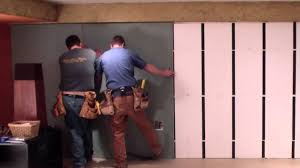 Insulating Basement Walls With Foam Board by Insofast Drywall Install Youtube