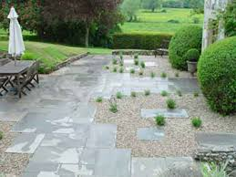 Top 25 Best Paving Stones Ideas On Pinterest Paving Stone Patio by Paving Slabs And Gravel With Planting Design Judith Glover